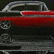 53 Chevy Art Print