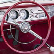 55 Chevy Ss Dash Art Print