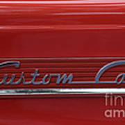 56 Ford F100 Custom Cab Art Print