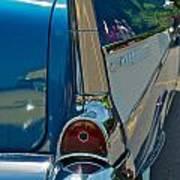 57 Chevy Bel Air 2 Art Print