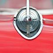 '57 Chevy Hood Ornament 8508 Art Print
