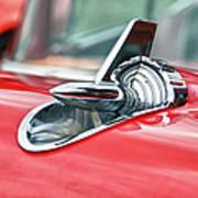 57 Chevy Hood Ornament 8509 Art Print