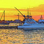 57- Sunset Cruise Art Print