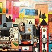 57th  Street Kaleidoscope Art Print