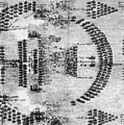 Battle Of Lepanto, 1571 Art Print