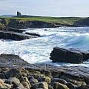 Classiebawn Castle, Mullaghmore, Co Art Print