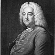 George Frederick Handel Art Print