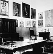 Gertrude Stein (1874-1946) Art Print