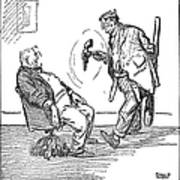 League Of Nations Cartoon Art Print