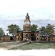 Philadelphia State House Art Print