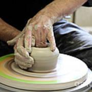 Pottery Wheel, Sequence Art Print