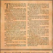 Presidential Campaign, 1928 Art Print