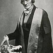 Richard Owen, English Paleontologist Art Print by Science Source