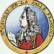 Sieur De La Salle Art Print