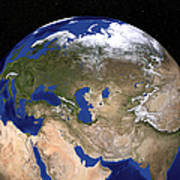 The Blue Marble Next Generation Earth Art Print by Stocktrek Images