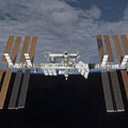 The International Space Station Art Print