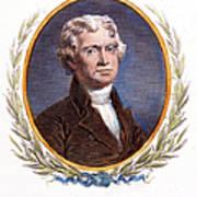 Thomas Jefferson (1743-1826): Art Print