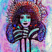 Vintage Hair Comb Art Print