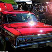 62 Chevy Impala Ss Back Art Print