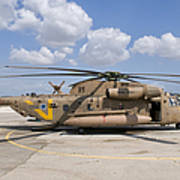 A Sikorsky Ch-53 Yasur Of The Israeli Art Print