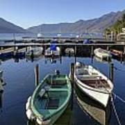 Ascona - Lake Maggiore Art Print