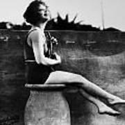 Clara Bow (1905-1965) Art Print by Granger