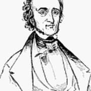 Edgar Allan Poe (1809-1849) Art Print