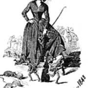 George Sand (1804-1876) Art Print