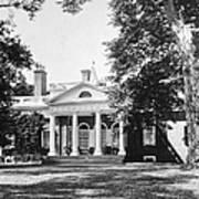 Jefferson: Monticello Art Print