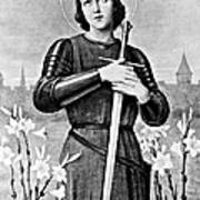 Joan Of Arc, French National Heroine Art Print