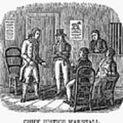 John Marshall (1755-1835) Art Print