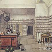 Michael Faraday, English Physicist Art Print
