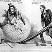 Presidential Campaign: 1864 Art Print