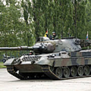 The Leopard 1a5 Of The Belgian Army Art Print