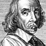 William Harvey, English Physician Art Print by Science Source