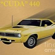 70 Cuda Art Print