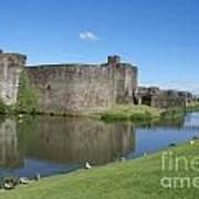 Caerphilly Castle Art Print