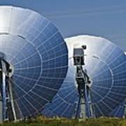 Concentrating Solar Power Plant Art Print