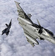 Dassault Rafale B Of The French Air Art Print