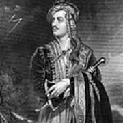 George Gordon Byron Art Print