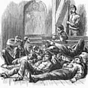 Great Railroad Strike, 1877 Art Print