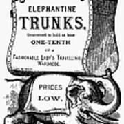 Mortised Cut, 19th Century Art Print