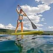 Paddle Board Art Print