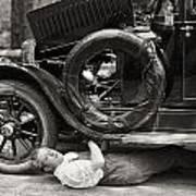 Silent Film: Automobiles Art Print