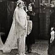 Silent Film Still: Wedding Art Print