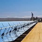 Solar Power Plant, California, Usa Art Print