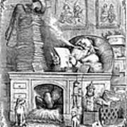 Thomas Nast: Santa Claus Art Print
