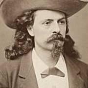 William F. Cody (1846-1917) Art Print