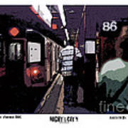 86th Street Art Print by Kenneth De Tore