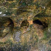 Ash Cave Art Print